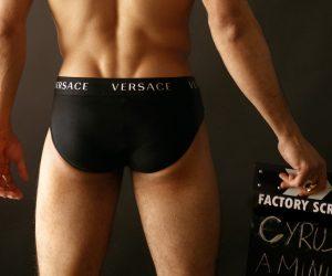 Versace underwear - Cyrus Amini by Baldovino Barani - FACTORY Screen test n1