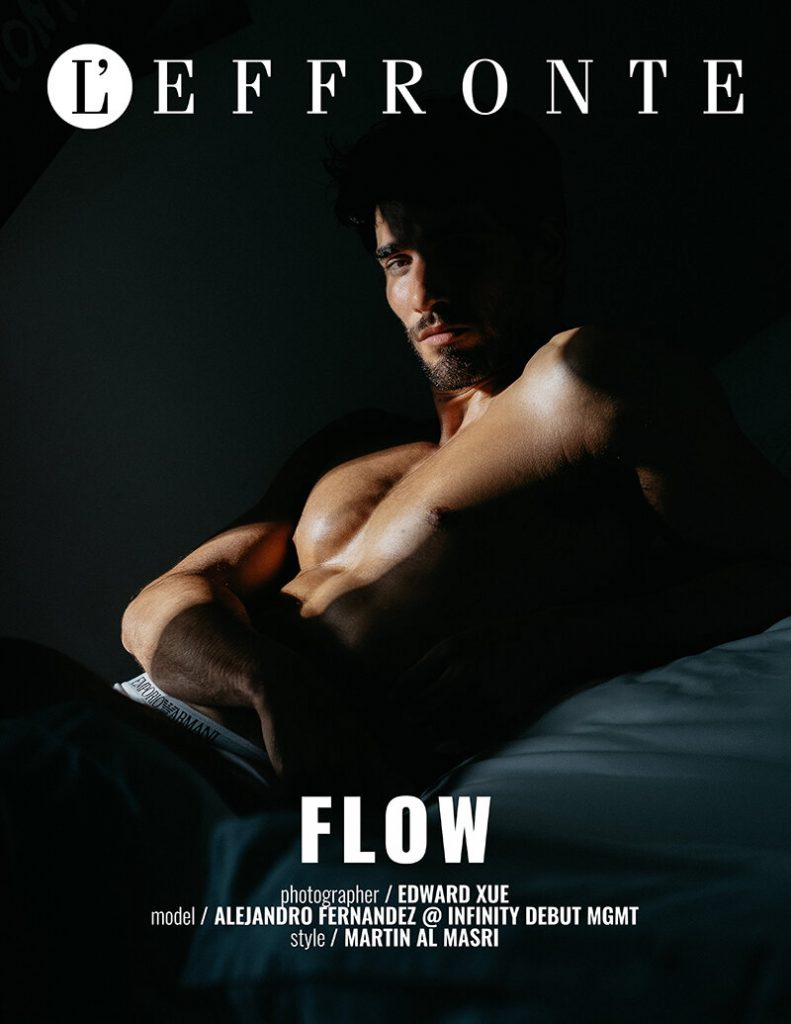 FLOW Emporio Armani briefs model Alejandro by Edward Xue