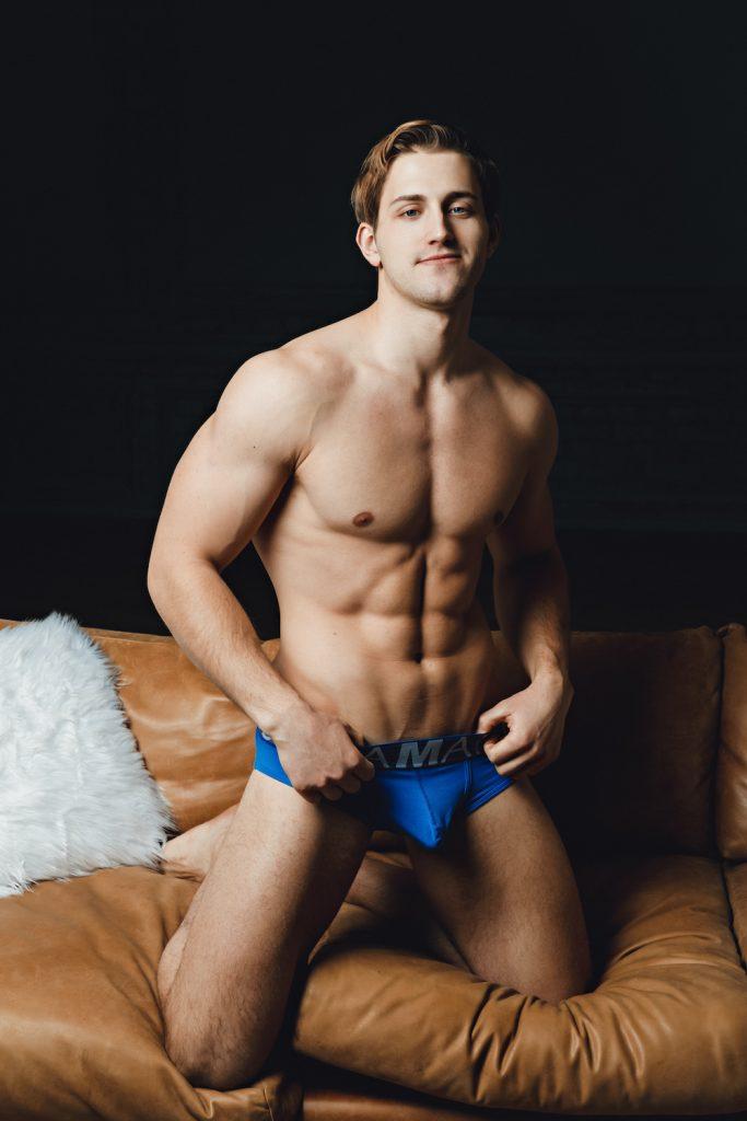 Marcuse underwear - Model Konstantin by Pavel Lepikhin