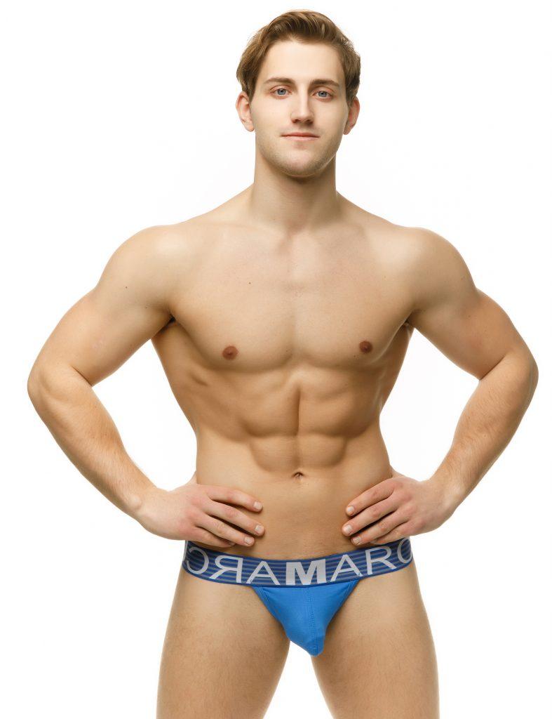 Marcuse underwear - Brighton blue thong