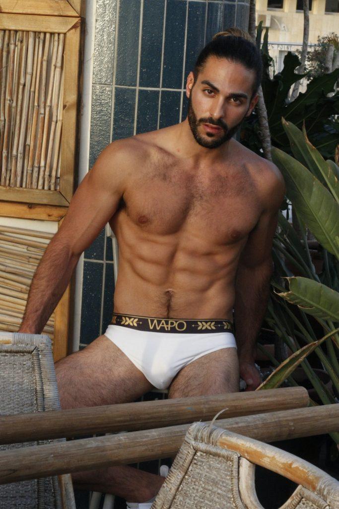 Wapo Wear underwear - Model Idan Guetta by Omer Revivi