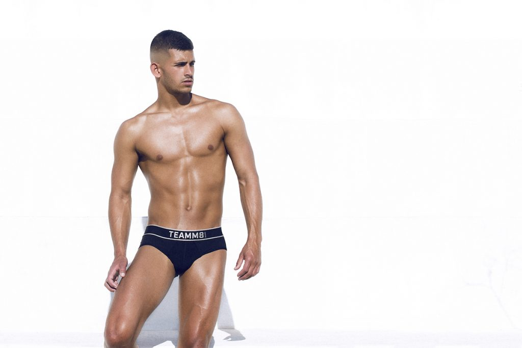 teamm8 underwear - naked briefs black