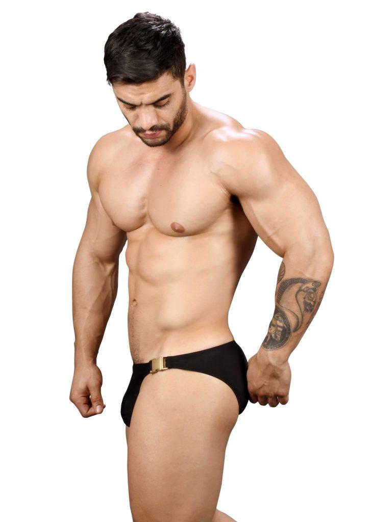 Andrew Christian swimwear - Buckle Micro Bikini w: Almost Naked 7738 Bikini