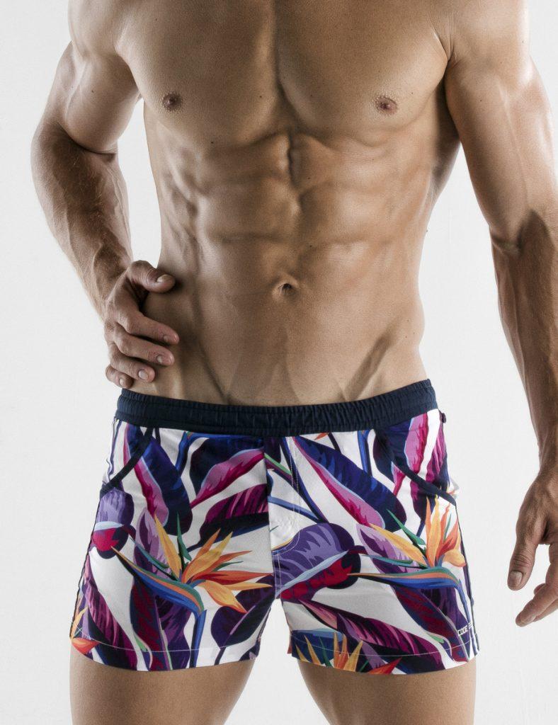 CODE 22 swimwear - Paradise Swim Shorts - Navy