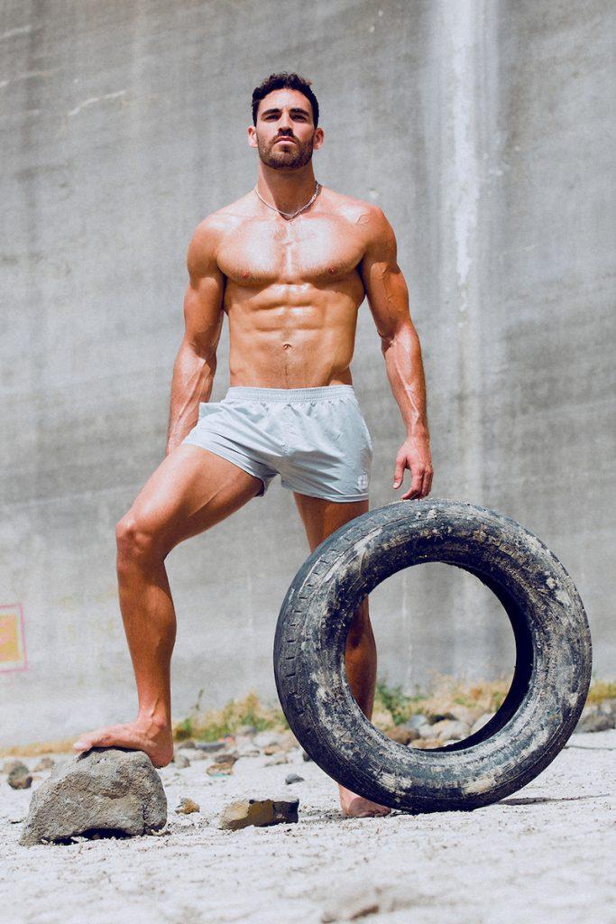 Curbwear Shorts - Model Ricardo by Adrian C. Martin