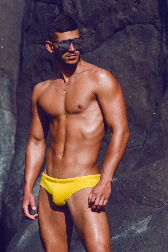 Loren Cruz by Adrian C. Martin for 2EROS swimwear