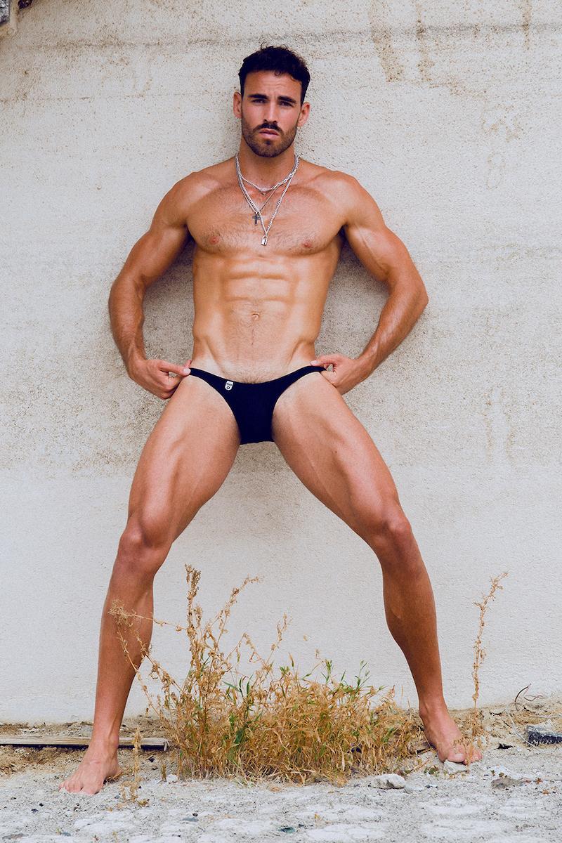 MaleBasics underwear - Model Ricardo by Adrian C. Martin