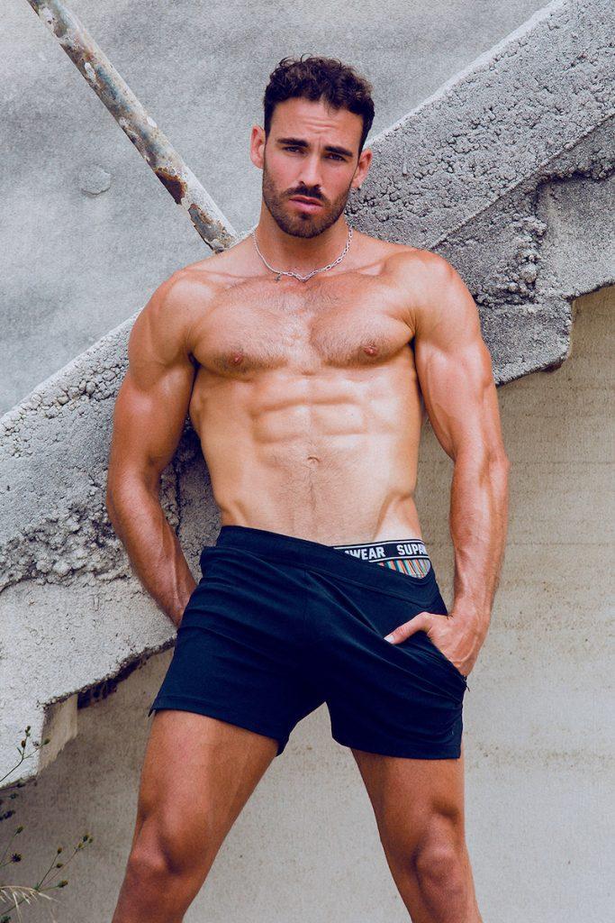 Supawear underwear - Model Ricardo by Adrian C. Martin