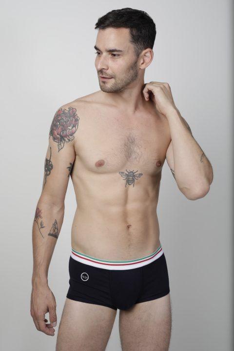 Ultimo Bacio - Italian underwear Boxerino trunks Navy