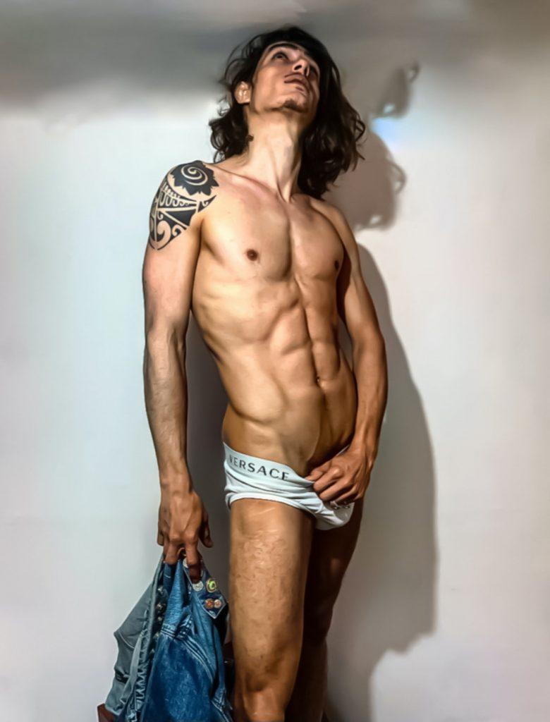 Versace underwear - model Davide Santaciara by Joseph Iaconis