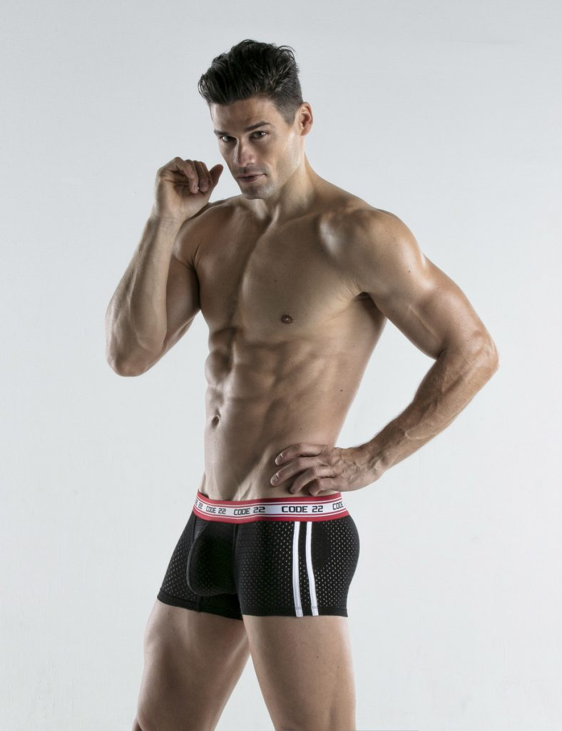 CODE 22 underwear - Energy Trunks Black