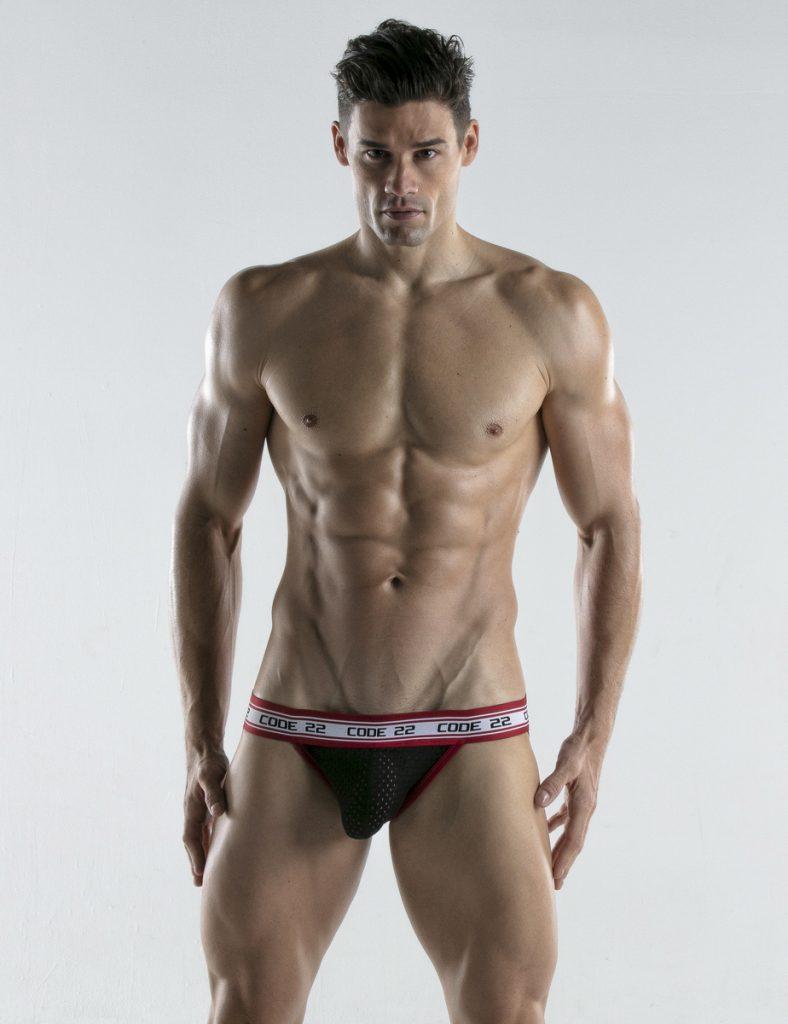 CODE 22 underwear - Energy Jockstrap black
