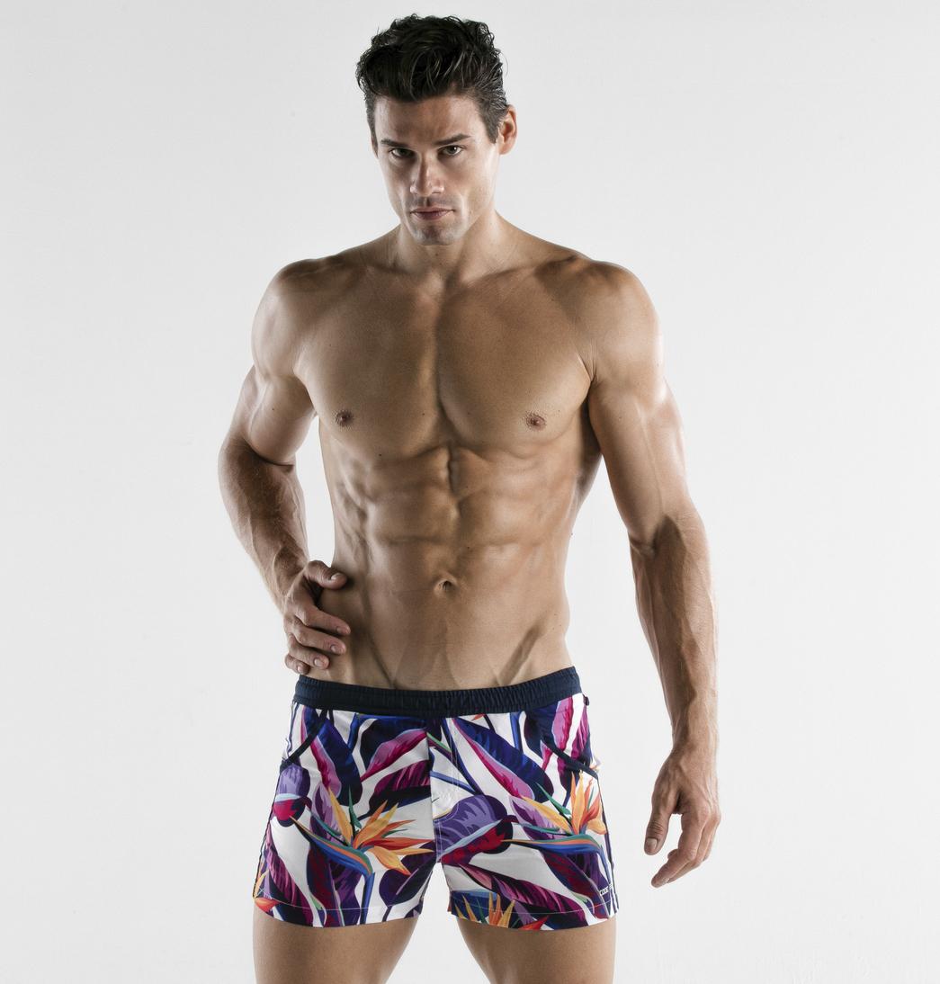 CODE 22 - Paradise Swim Shorts