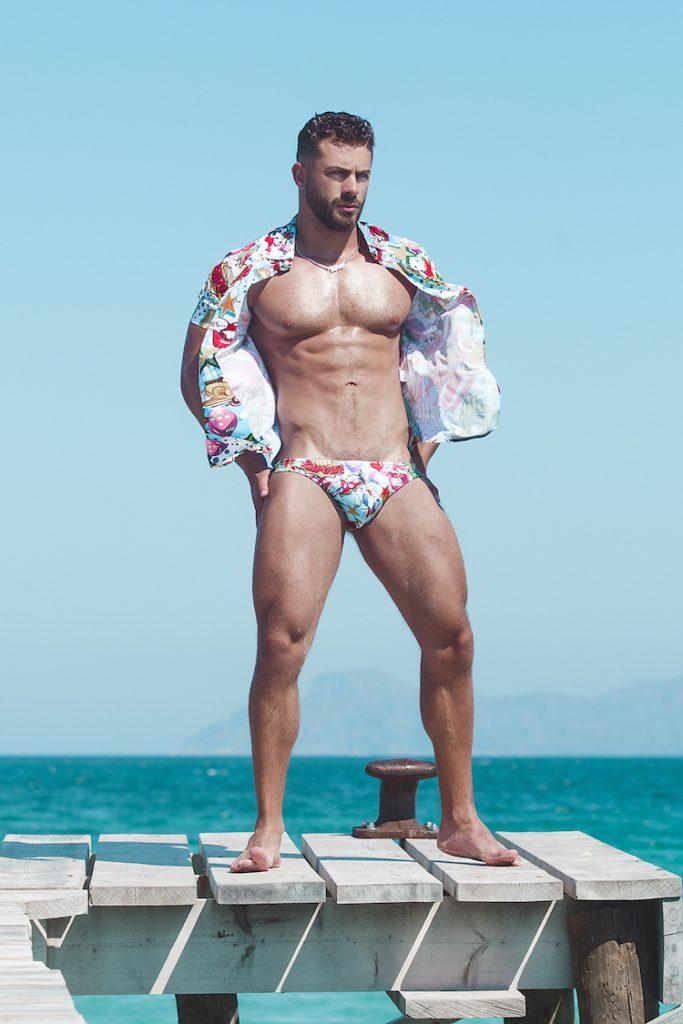 Bang Clothing swimwear - Models Kevin, Jermaine and Loren by Adrián C. Martín