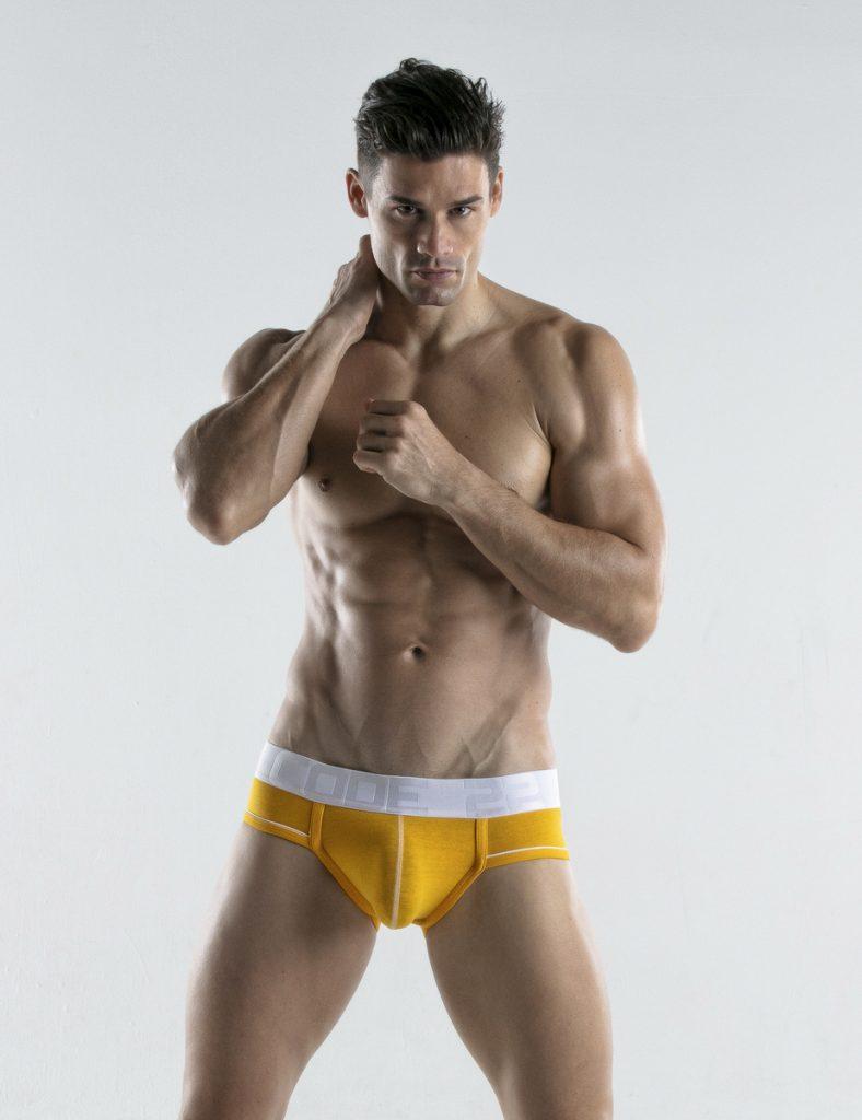CODE 22 underwear - Bright Briefs yellow