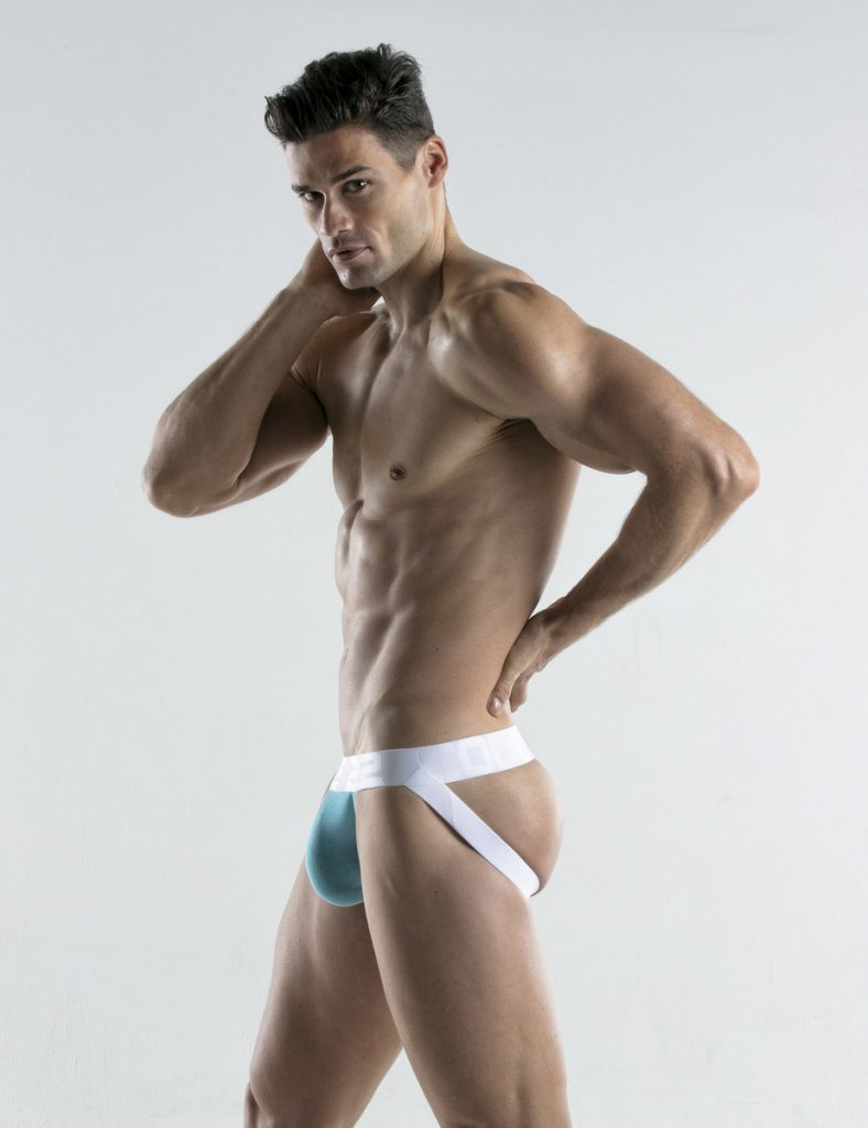 CODE 22 underwear - Bright Jockstrap sky blue