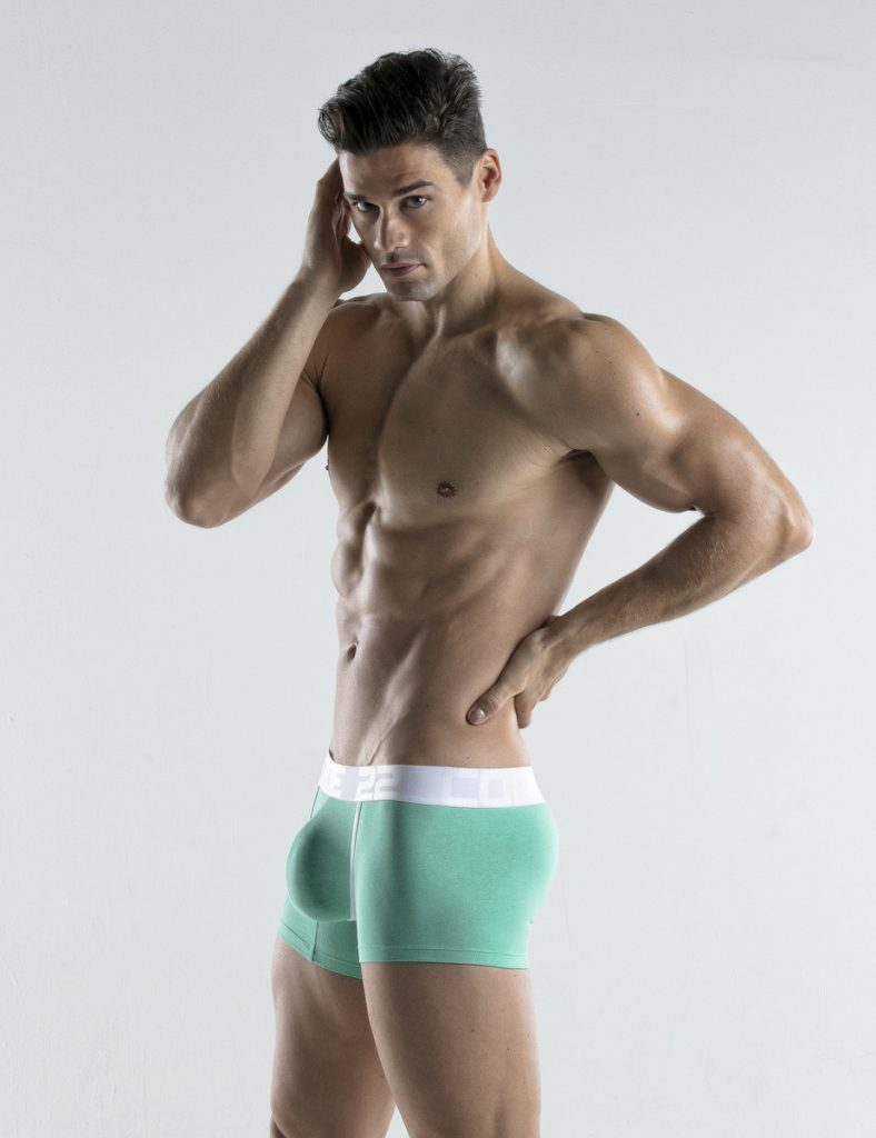 CODE 22 underwear - Bright Trunks aqua