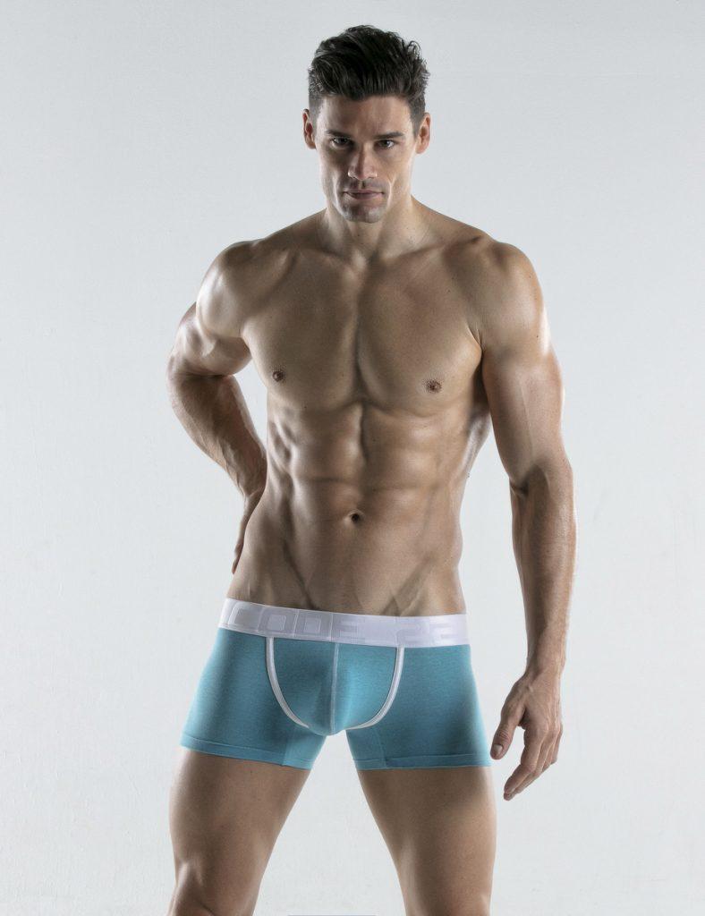 CODE 22 underwear - Bright Trunks sky blue