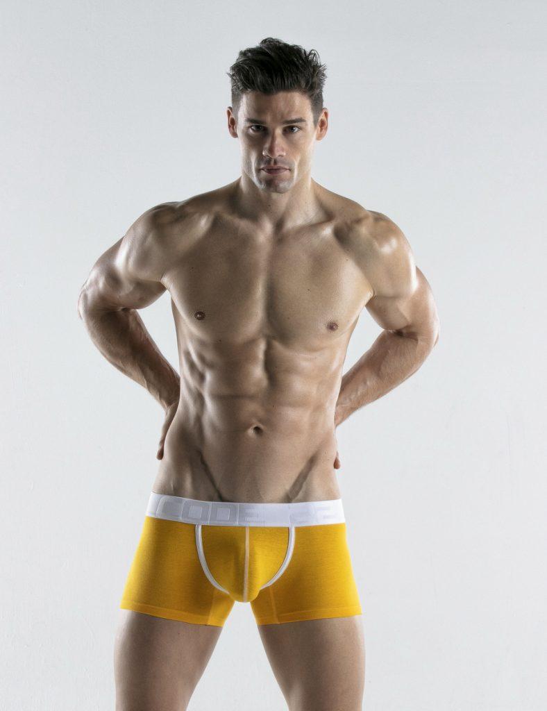 CODE 22 underwear - Bright Trunks yellow
