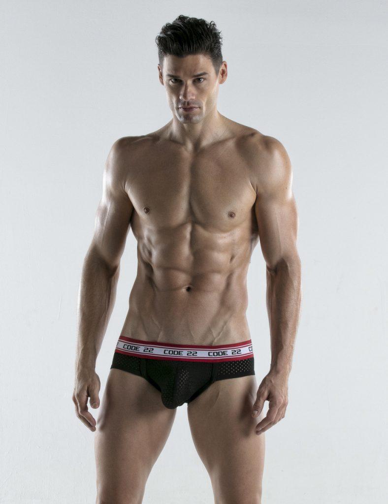 CODE 22 underwear - Energy Briefs black