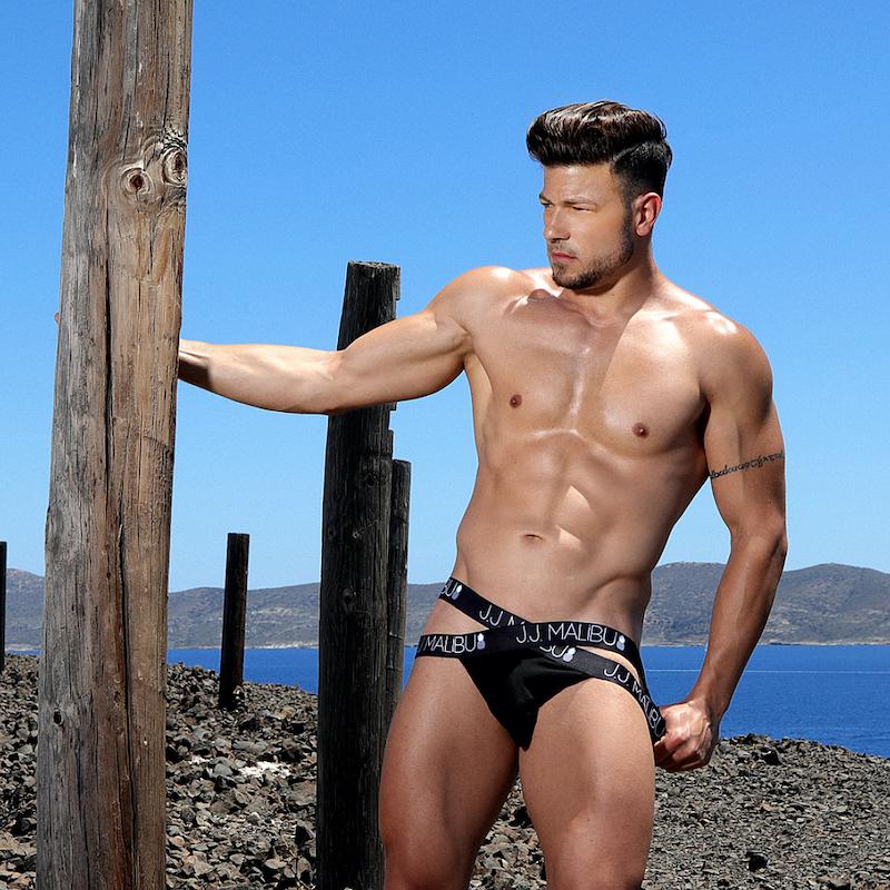 Model George by Valeodis – JJ Malibu underwear