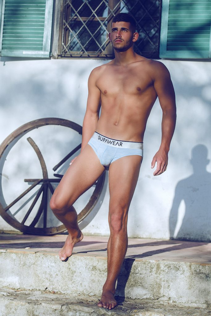 Supawear underwear - Model Loren by Adrian C. Martin