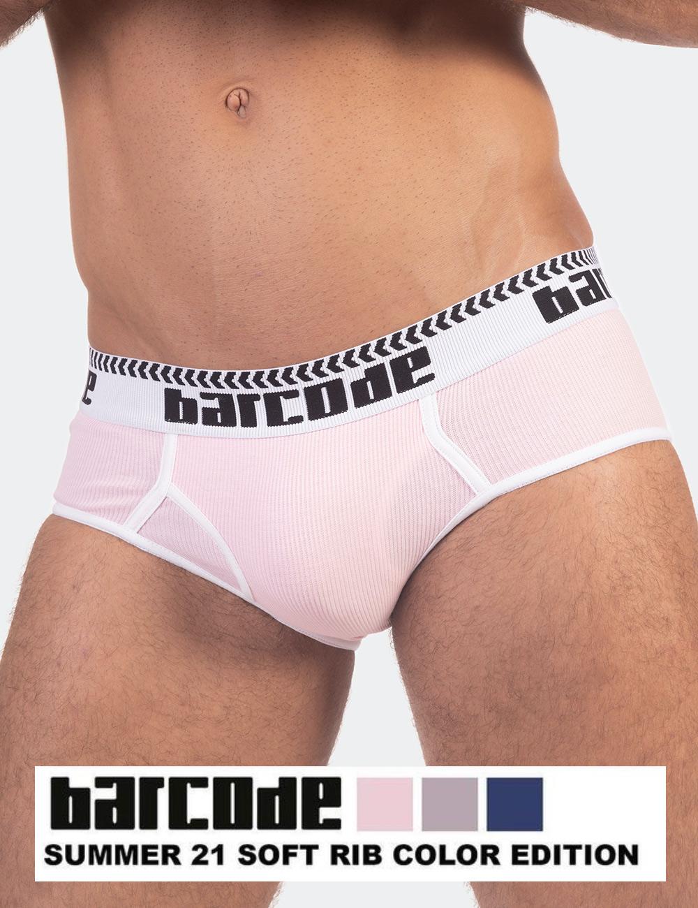 Barcode Berlin underwear - Briefs Arvid pink