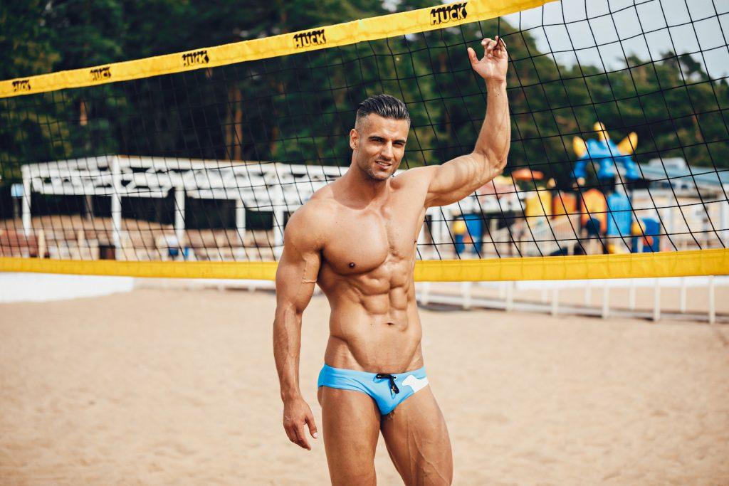 Marcuse swimwear Puppy blue