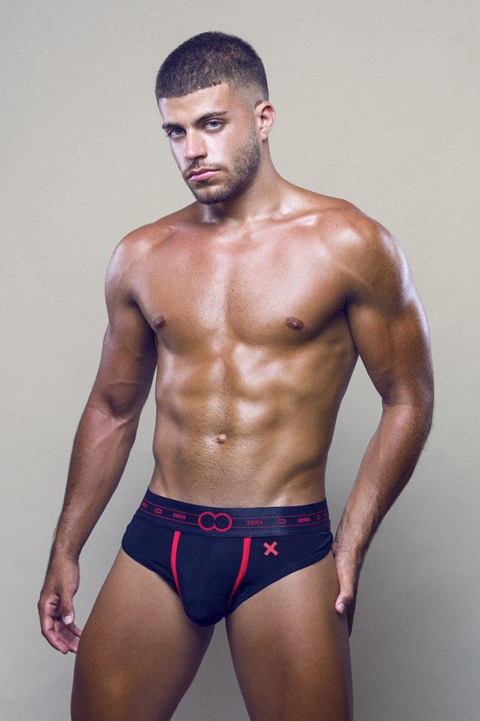 2EROS underwear - model Raul Gallardo by Adrian C Martin