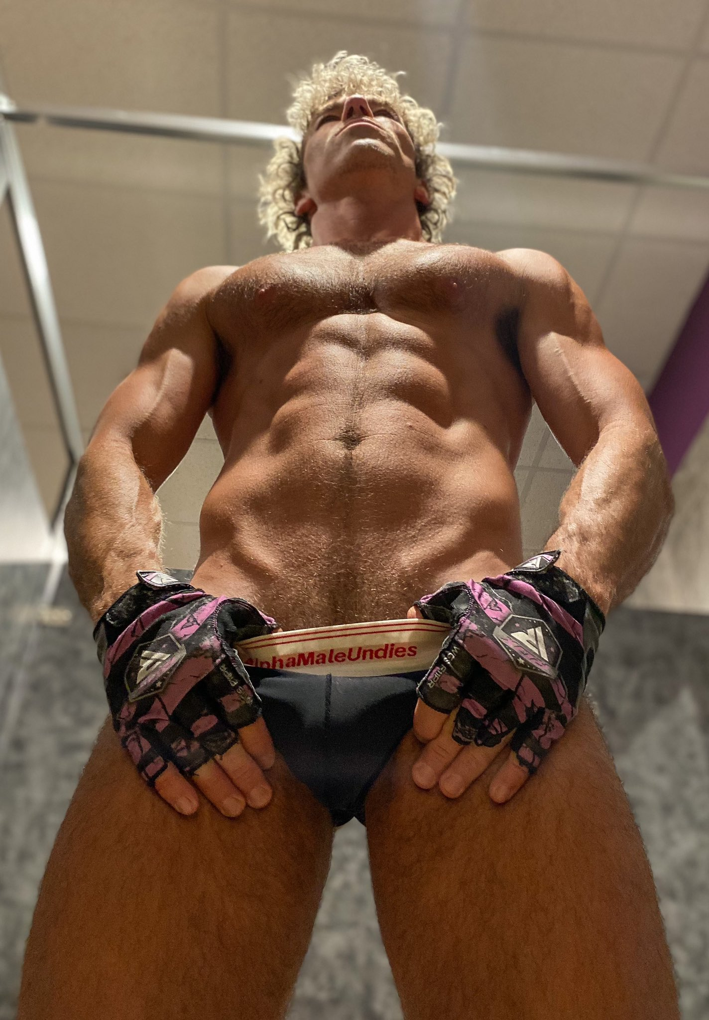 AMU Pure briefs and jocks on model DW Chase