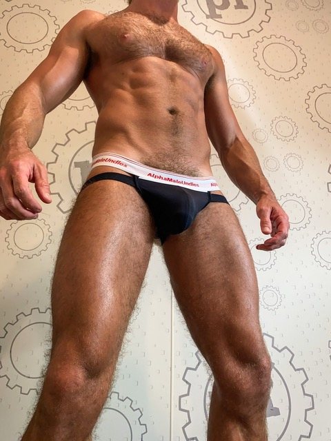 AMU Pure briefs and jocks on the DW Chase model