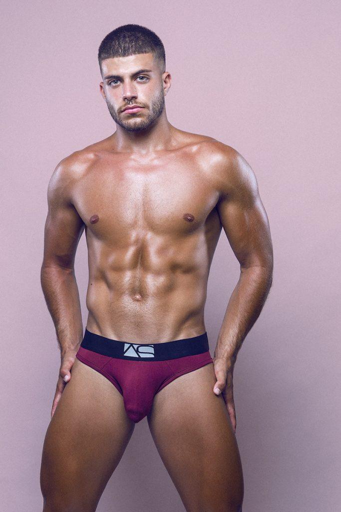 Adam Smith underwear - model Raul Gallardo by Adrian C Martin
