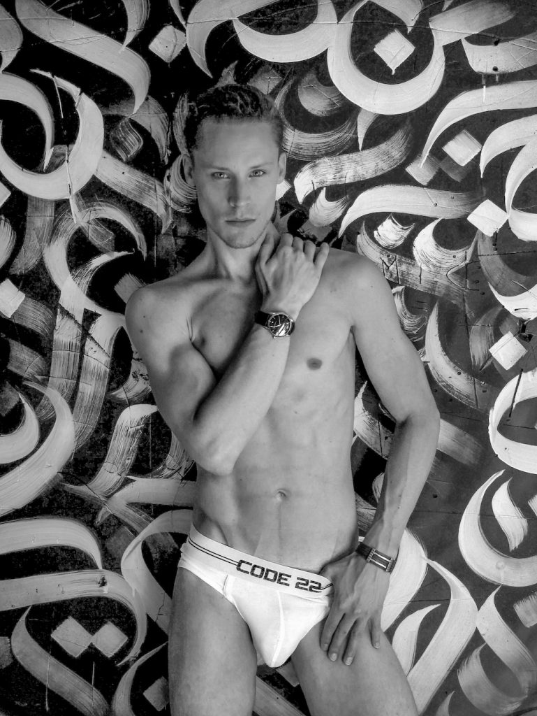 CODE 22 underwear - model Tibo by inky picture