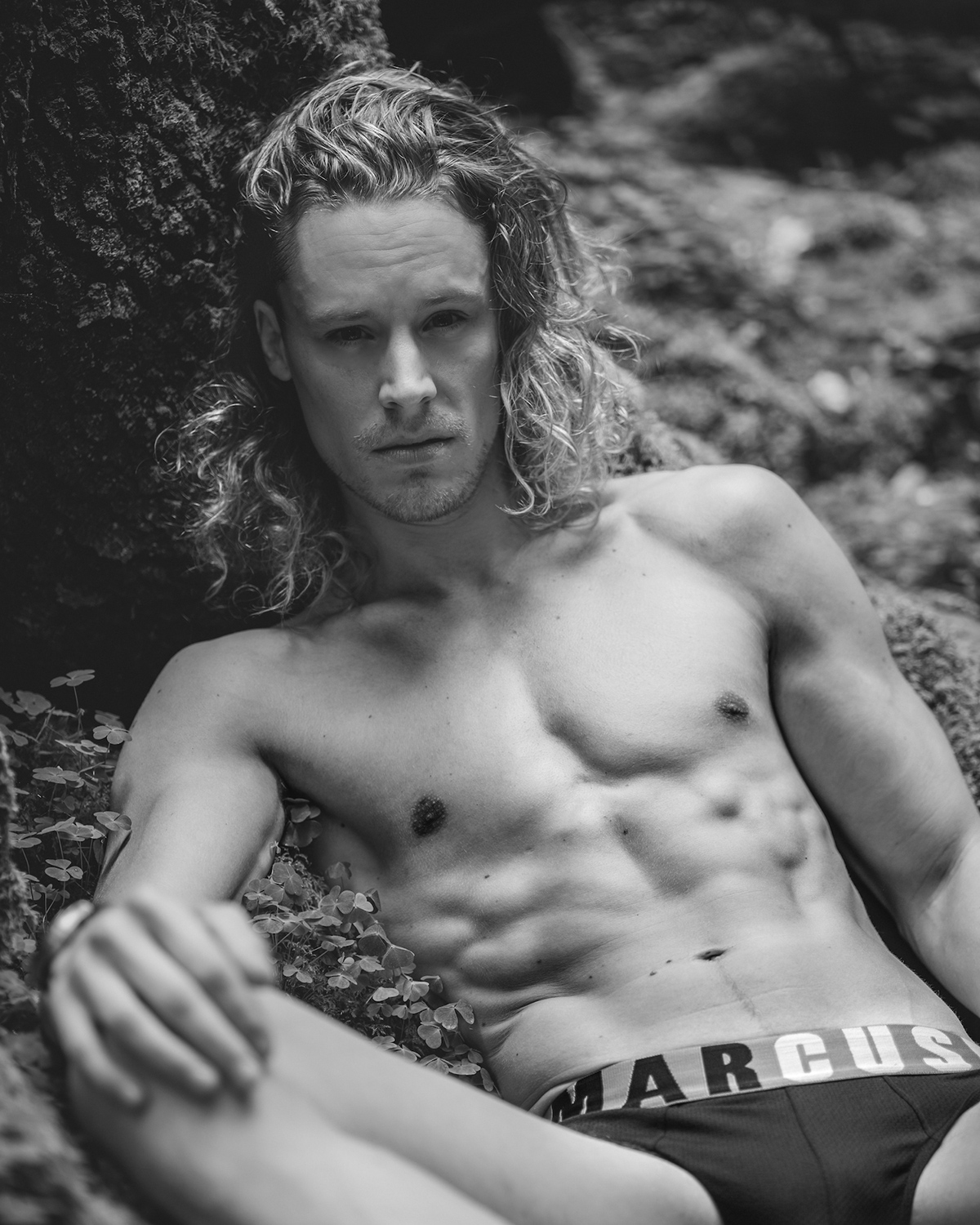 Marcuse Briefs - Model Tibo by Portraits by Sky