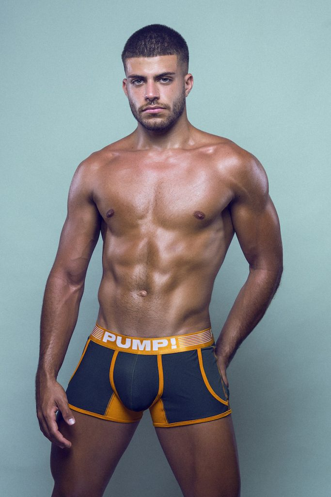 PUMP underwear - model Raul Gallardo by Adrian C Martin