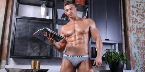 Marcuse Australia underwear Urban brief grey