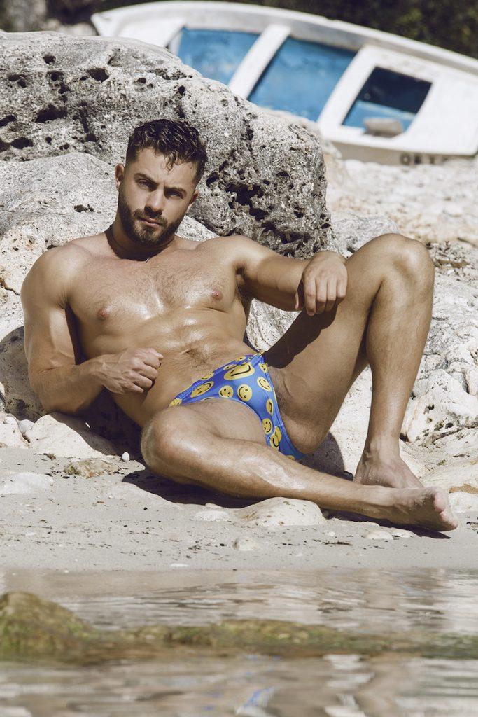 Desiderio Beachwear - Models Kevin and Jermaine by Adrián C. Martín