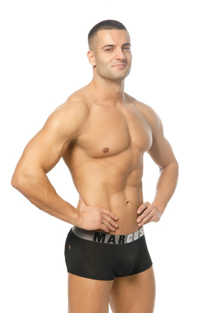 Marcuse underwear - Active boxer black