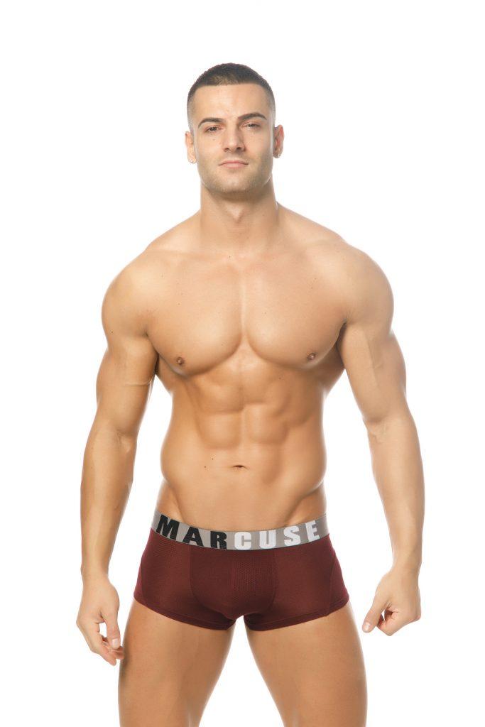 Marcuse underwear - Active boxer burgundy