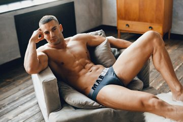 Marcuse underwear - Active brief charcoal