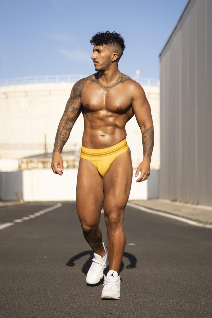 Model Karim by MDZmanagement - JJ Malibu underwear