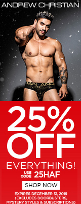 Andrew Christian underwear sale