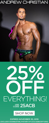 Andrew Christian underwear coupon