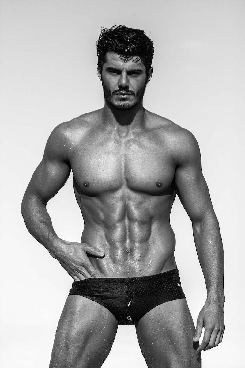 Brazilian actor and model leandro becker frontal nude photoshoot