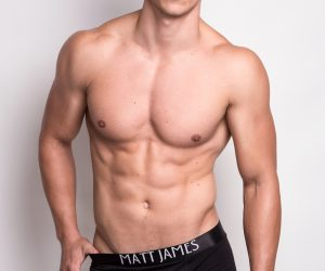 Matt James underwear - Black boxer briefs