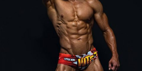 Alex Zaniewicz-Clarke by Gilles Crofta for Little Rok Original swimwear