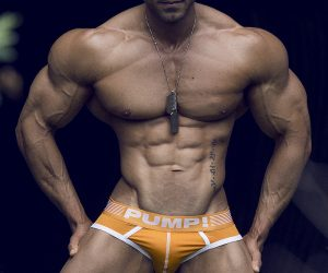 Timoteo Boza photographed by Adrian C. Martin - PUMP! underwear