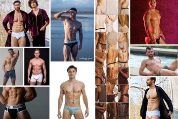 Men and Underwear most popular instagram posts 2018