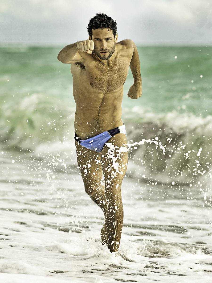 David Vance photography - MEN AND WATER book