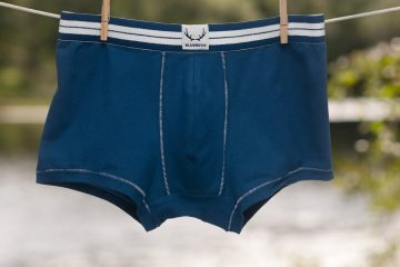 Bluebuck underwear - Navy Blue trunks